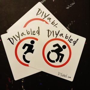 Diyabled stickers